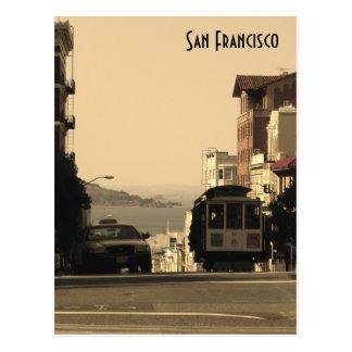 Cartão Postal Teleférico de San Francisco