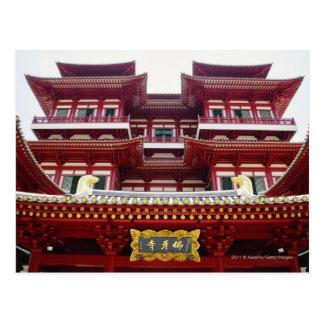 Cartão Postal Templo e museu da relíquia do dente de Buddha em