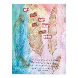 Cartão Postal Tenha a fé