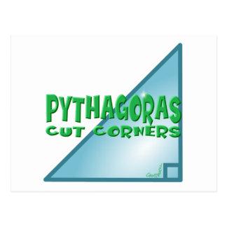 Cartão Postal Teorema pitagórico