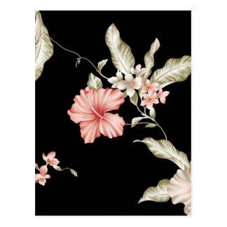 Cartão Postal teste padrão de flor