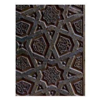 Cartão Postal Teste padrão islâmico