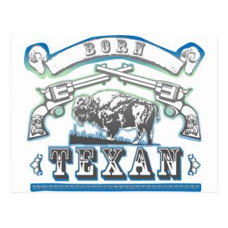 Cartão Postal Texan nascido