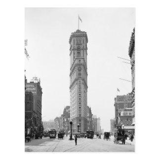 Cartão Postal Times Square, 1908
