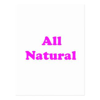 Cartão Postal toda natural