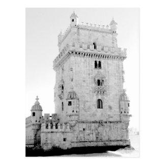 Cartão Postal Torre de Belém