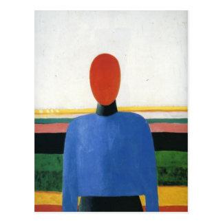 Cartão Postal Torso fêmea por Kazimir Malevich