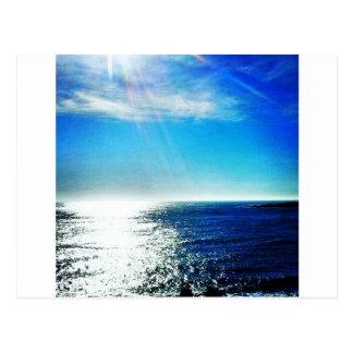 Cartão Postal Trajeto litoral