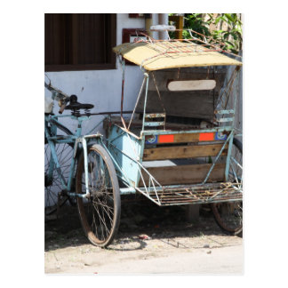 Cartão Postal Triciclo