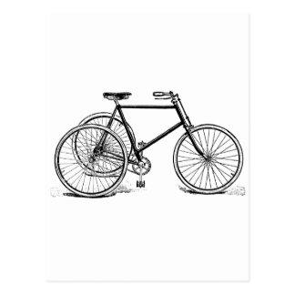 Cartão Postal Triciclo antigo