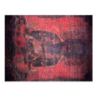 Cartão Postal Um dos cinco Bodhisattvas da força