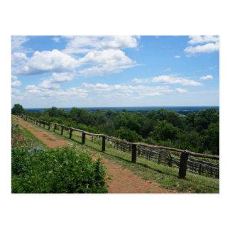 Cartão Postal Uma vista de Monticello