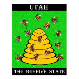 Cartão Postal Utá o estado da colmeia