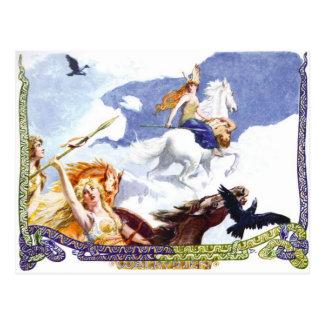Cartão Postal Valkyries
