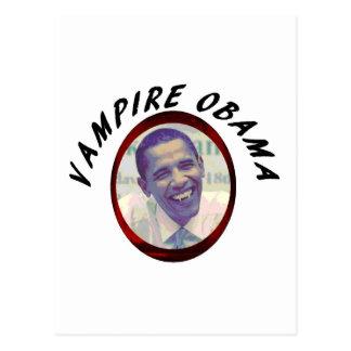 Cartão Postal Vampiro Obama