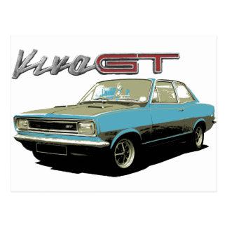 Cartão Postal Vauxhall Viva GT