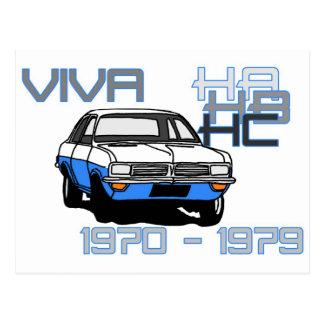 Cartão Postal Vauxhall Viva HC