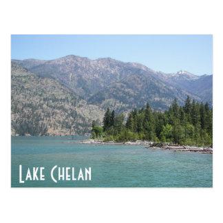 Cartão Postal Viagem de Chelan do lago