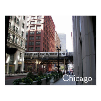 Cartão Postal Viagem de Chicago