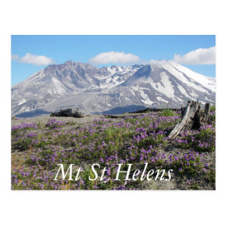 Cartão Postal Viagem de Mount Saint Helens