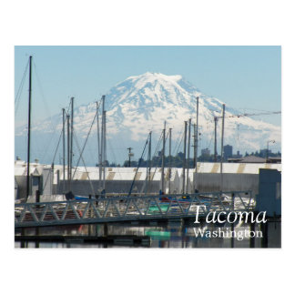 Cartão Postal Viagem de Tacoma, Washington