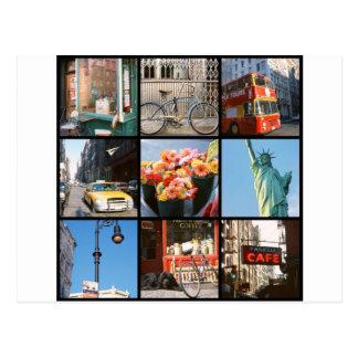 Cartão Postal Viagem no exterior a NewYork