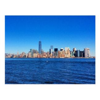Cartão Postal Viagem - skyline de NYC