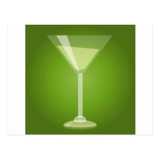 Cartão Postal Vidro de Martini