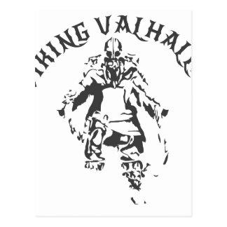 Cartão Postal Viking Valhalla - design 1