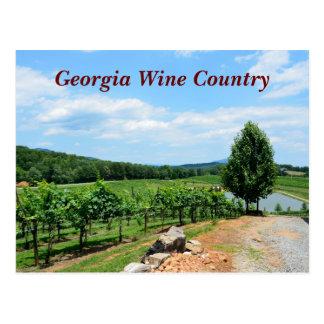 Cartão Postal Vinhedos de Geórgia, EUA