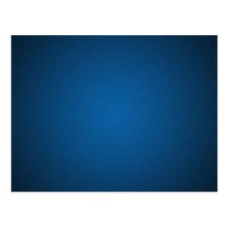 Cartão Postal Vinheta Azul-Preta granulado