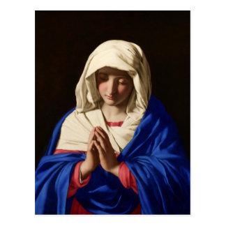 Cartão Postal Virgem Maria