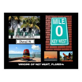 Cartão Postal Visões de Key West, Florida