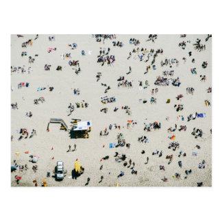 Cartão Postal Vista aérea da praia de Bondi, Sydney Austrália