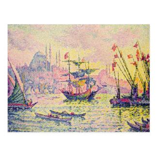 Cartão Postal Vista de Constantinople, 1907