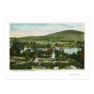 Cartão Postal Vista de Glendale