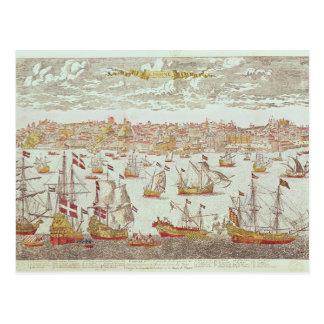 Cartão Postal Vista de Lisboa