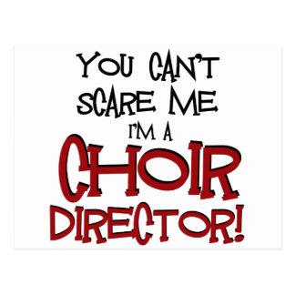 Cartão Postal Você não pode susto mim, mim é um diretor do coro
