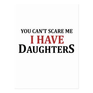 Cartão Postal Você não pode susto mim mim ter filhas