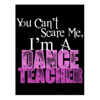 Cartão Postal Você não pode susto mim, professor da dança