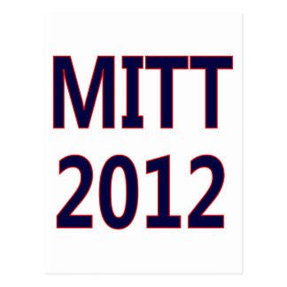 Cartão Postal Voto Mitt Romney 2012