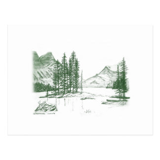 Cartão Postal Voz da montanha