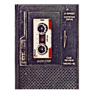 Cartão Postal walkman do anos 80