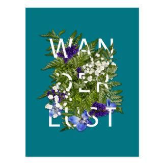 Cartão Postal Wanderlust