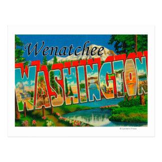 Cartão Postal Wenatchee, cenas da letra de WashingtonLarge