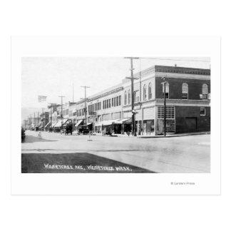 Cartão Postal Wenatchee, WashingtonView da avenida de Wenatchee