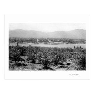 Cartão Postal Wenatchee, WashingtonView do rio e