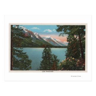 Cartão Postal Wenatchee, WAView do lago Wenatchee