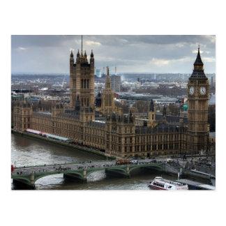 Cartão Postal Westminster
