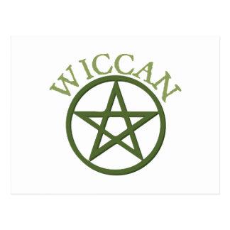 Cartão Postal Wiccan